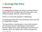 exchange rate policy4