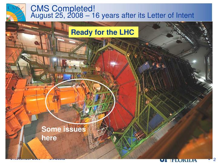 CMS Completed!