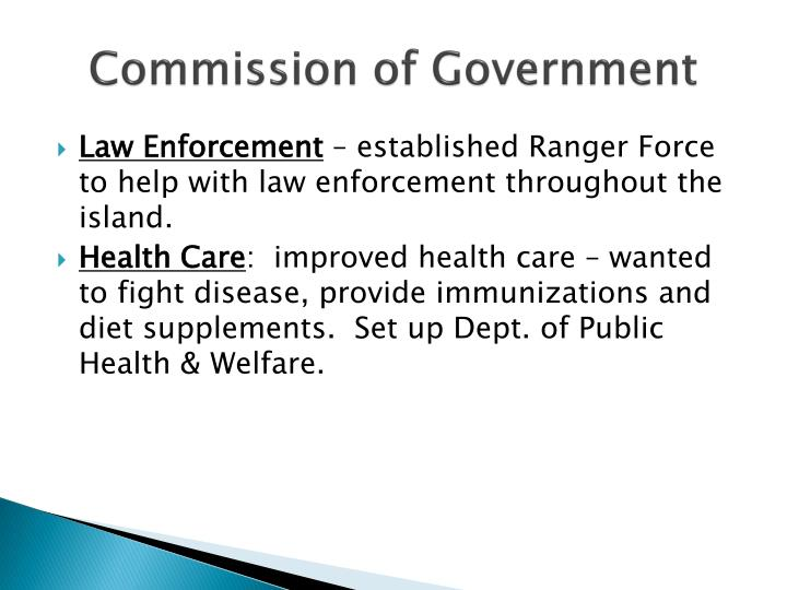Commission of Government