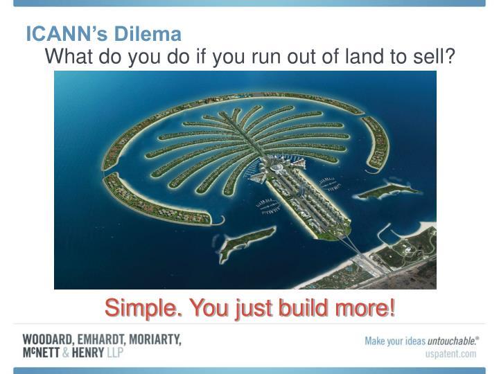 ICANN's Dilema