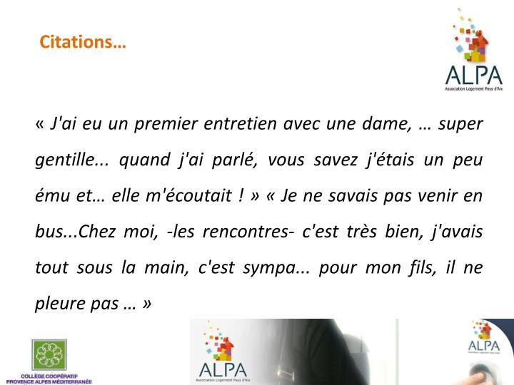Citations…