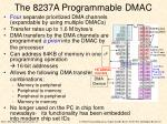 the 8237a programmable dmac