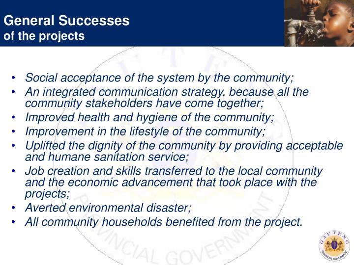 General Successes