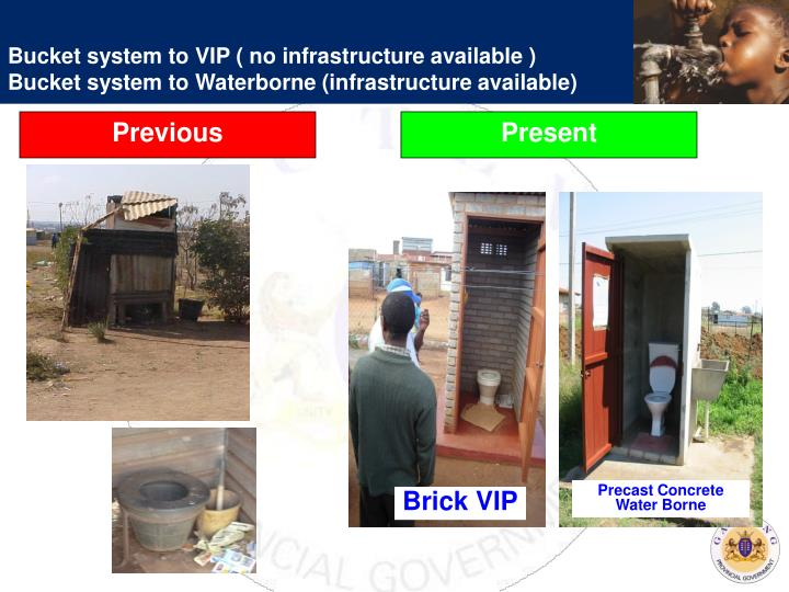 Bucket system to VIP ( no infrastructure available )
