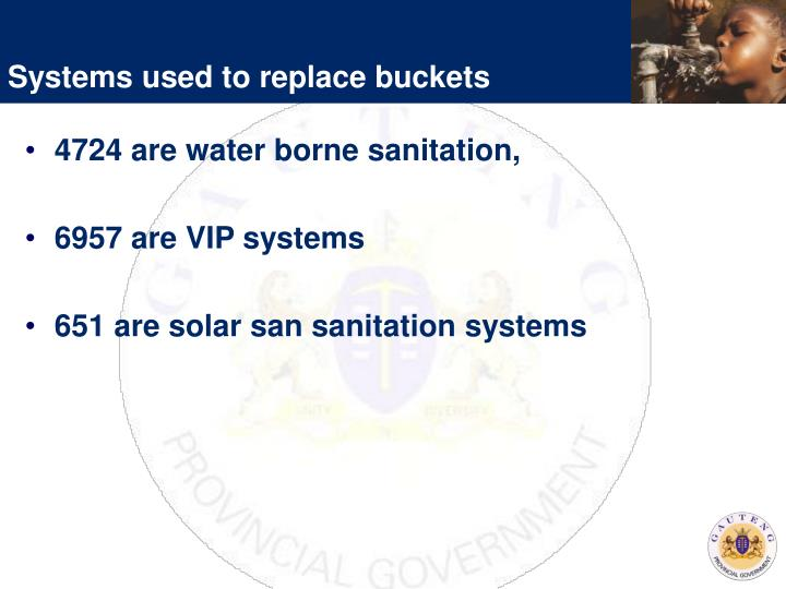 Systems used to replace buckets