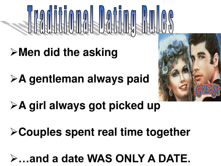 Traditional Dating Rules