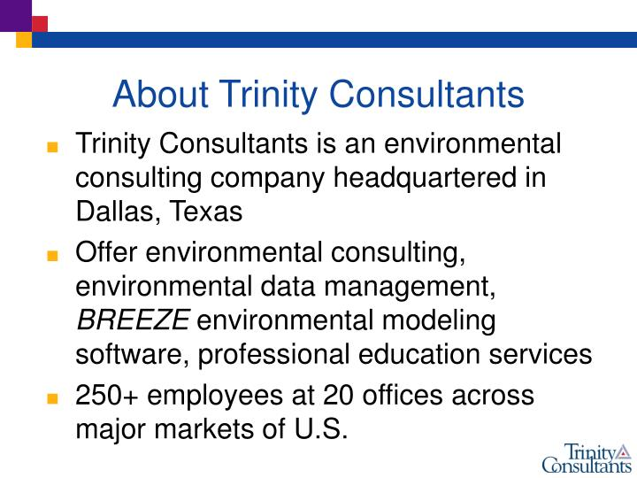 About trinity consultants