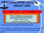 legislation justice ni act 2002