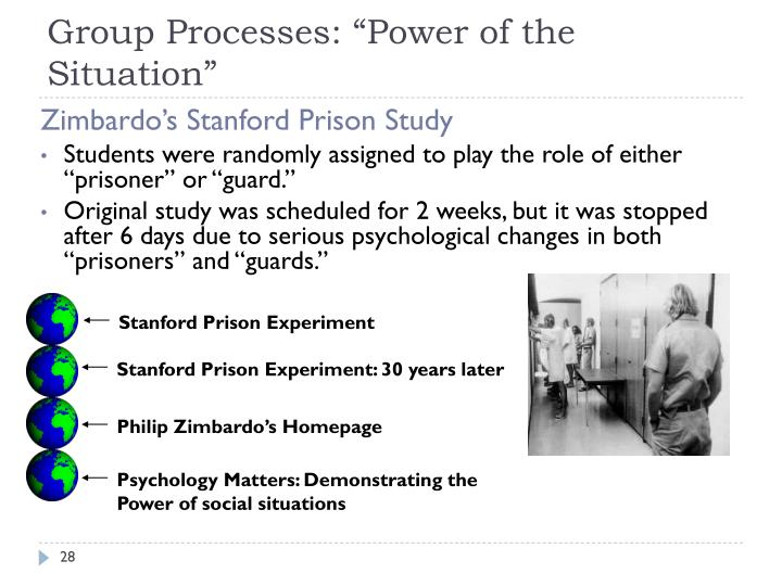 power of situations Full-text paper (pdf): the power of the situation the impact of milgram's obedience studies on personality and social psychology.
