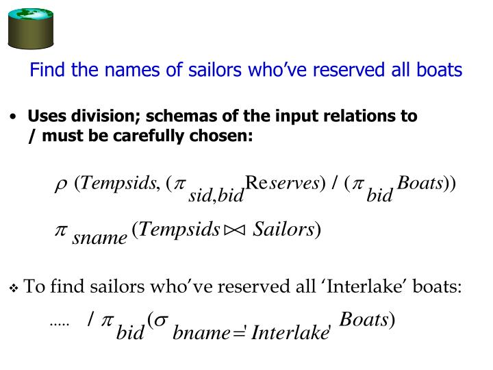 Find the names of sailors who've reserved all boats