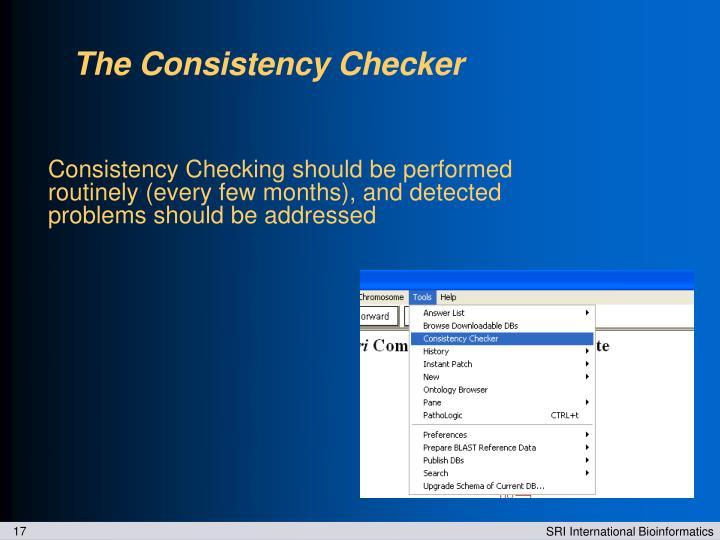 The Consistency Checker