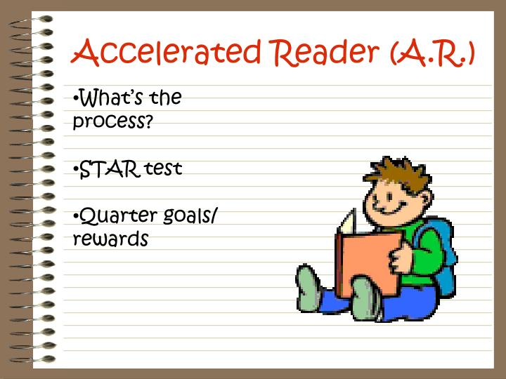 Accelerated reader a r