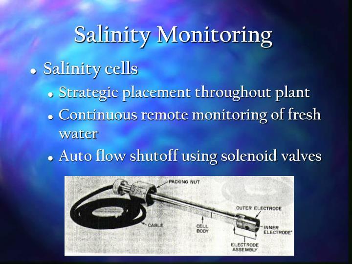 Salinity Monitoring