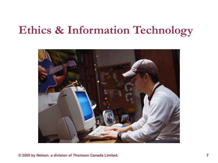 Ethics & Information Technology
