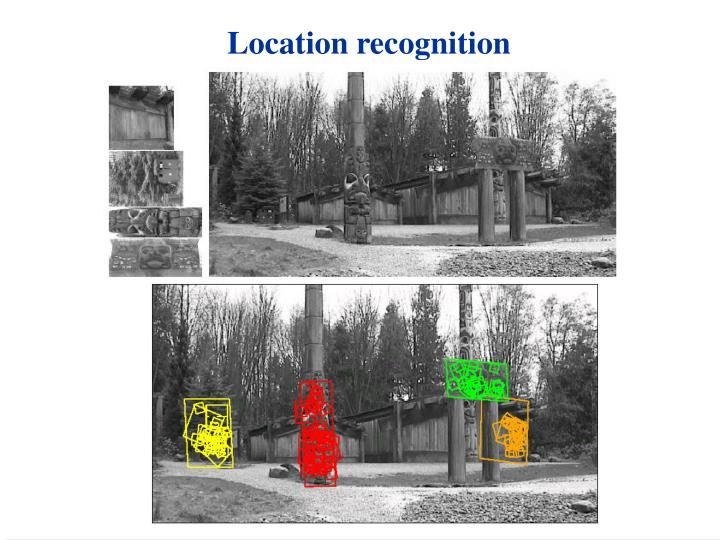 Location recognition