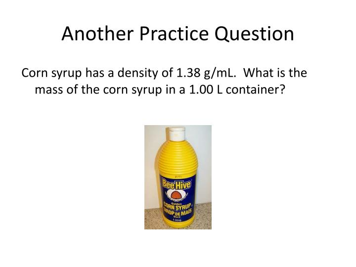 Another Practice Question