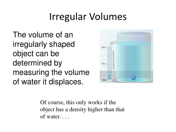 Irregular Volumes