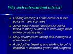 why such international interest