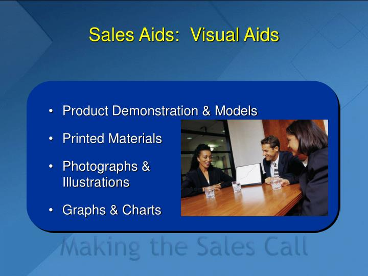 Sales Aids:  Visual Aids