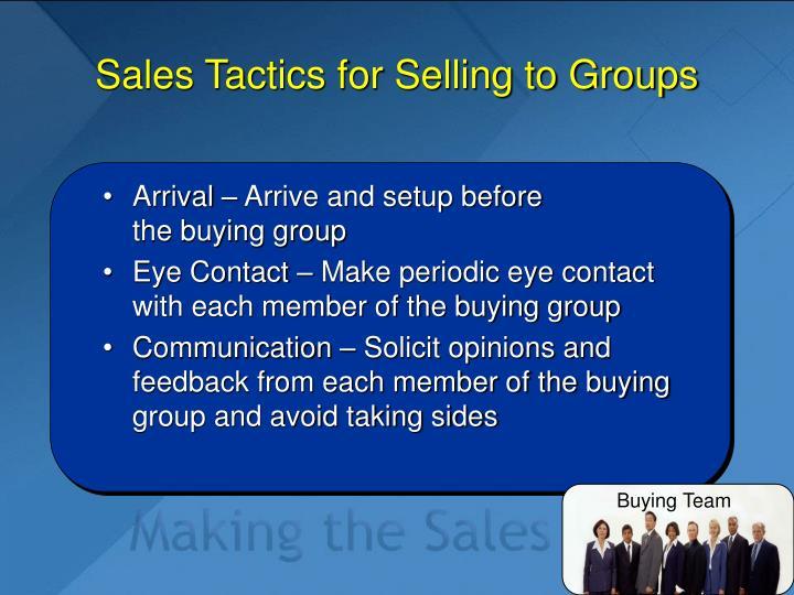Buying Team