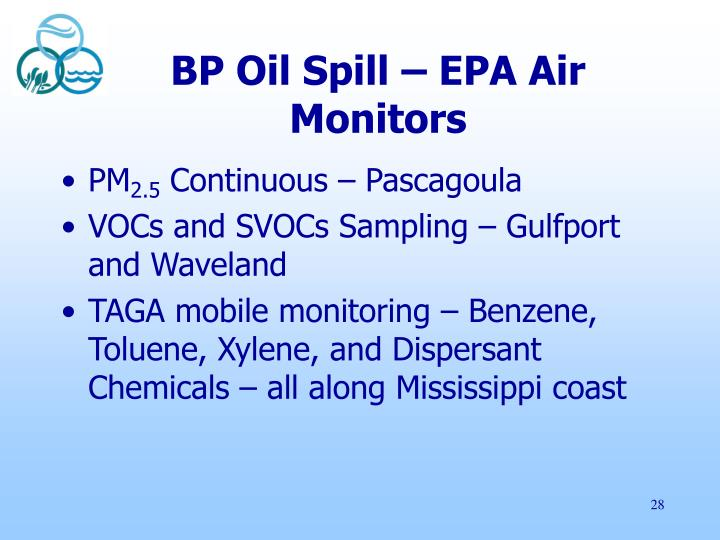 BP Oil Spill – EPA Air Monitors
