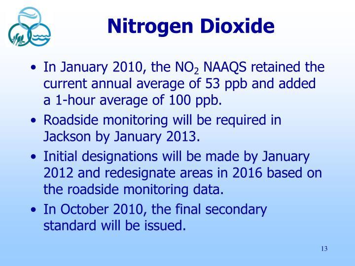Nitrogen Dioxide