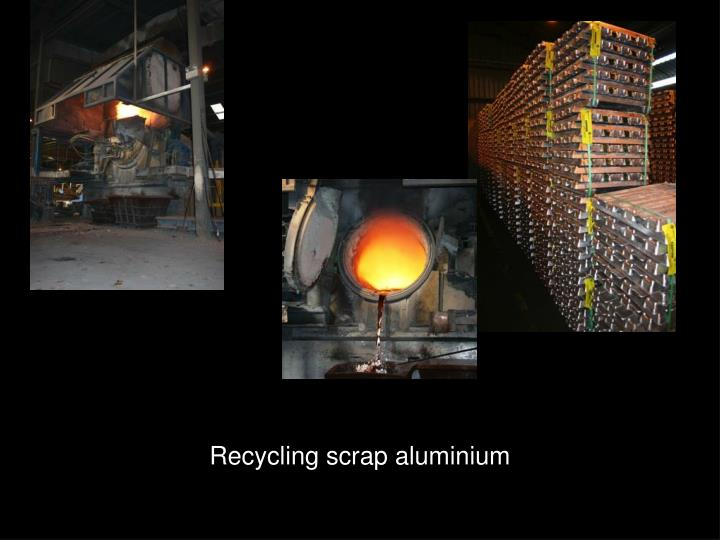 Recycling scrap aluminium