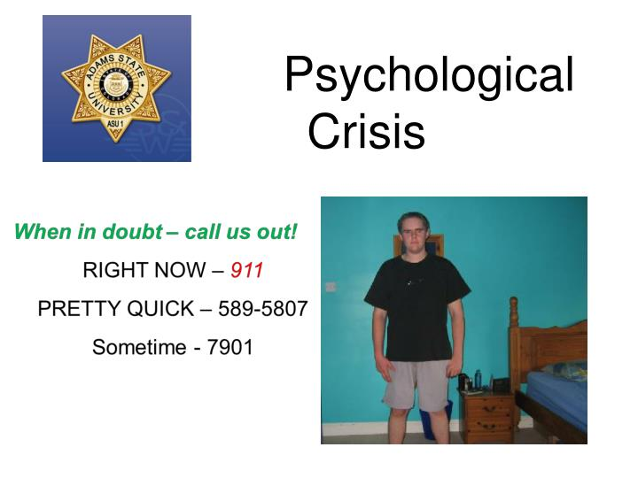 Psychological Crisis