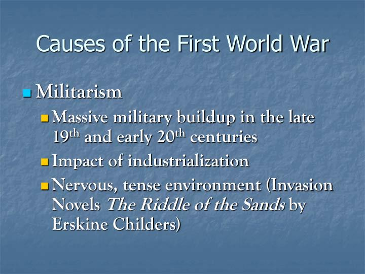 Causes of the First World War