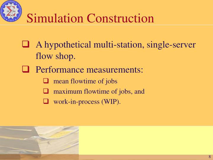 Simulation Construction