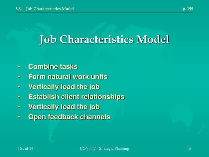 8.8Job Characteristics Modelp. 199