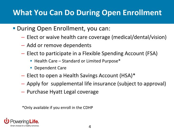 What You Can Do During Open Enrollment