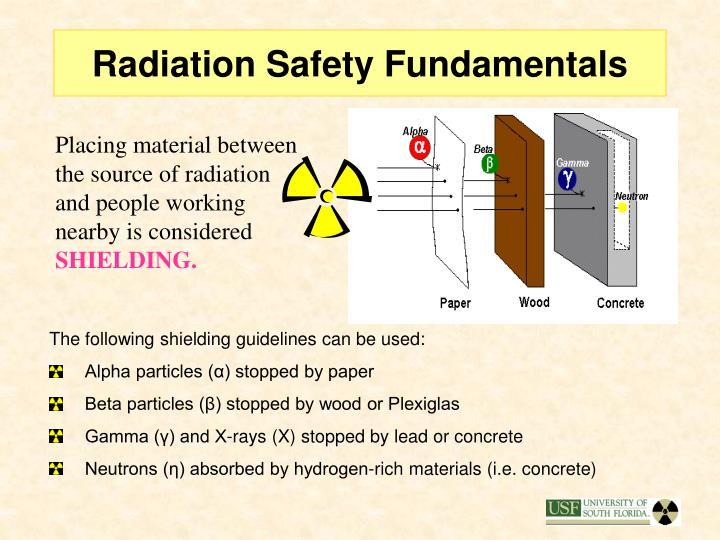 Radiation Safety Fundamentals