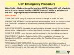 usf emergency procedure1