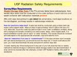 usf radiation safety requirements2