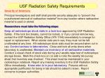 usf radiation safety requirements4
