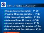 2001 a metadata odyssey