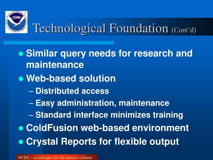 Technological Foundation