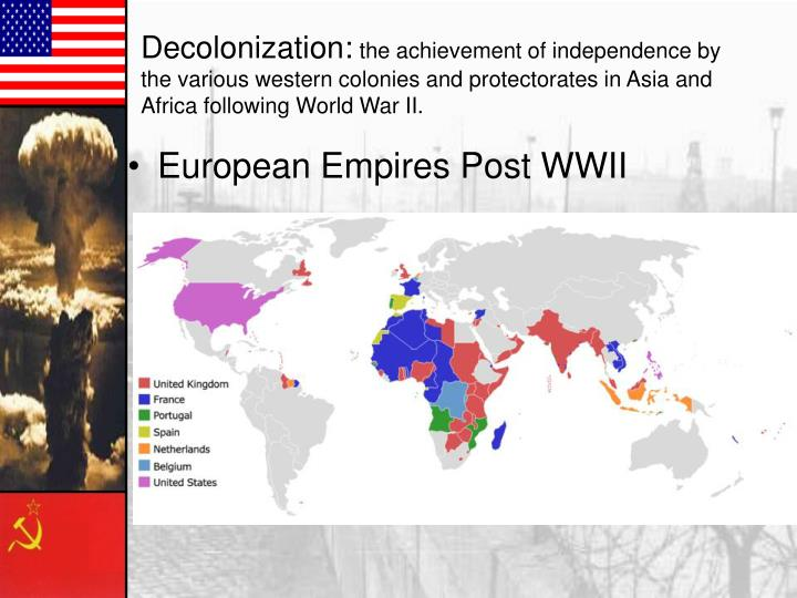 European Empires Post WWII
