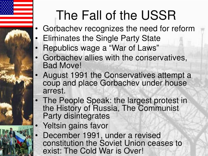 Gorbachev recognizes the need for reform