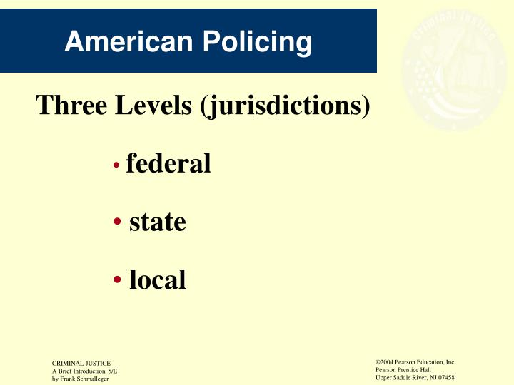 American Policing