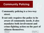 community policing2