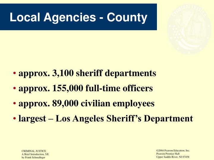 Local Agencies - County
