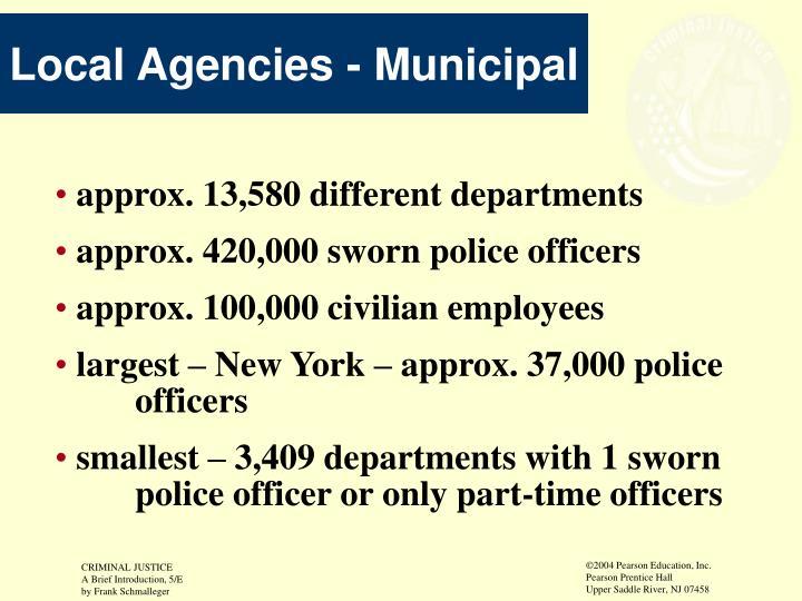 Local Agencies - Municipal