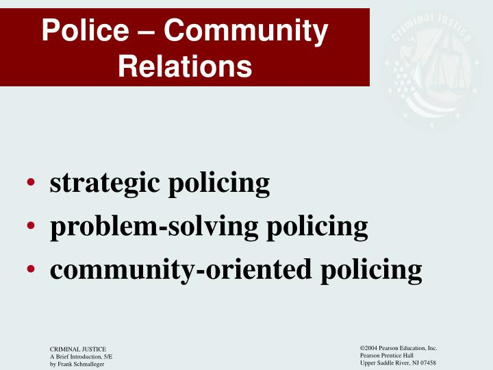 strategic policing