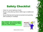 safety checklist1