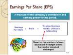 earnings per share eps