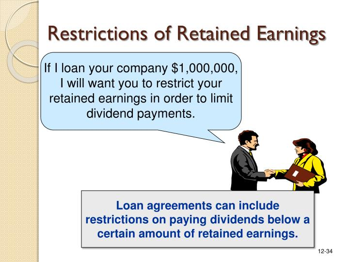 Restrictions of Retained Earnings