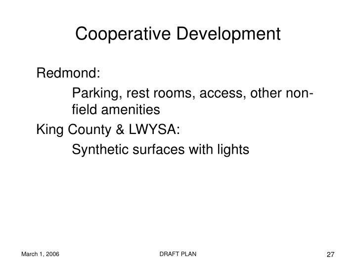 Cooperative Development