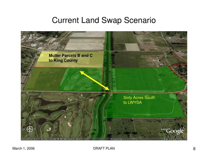 Current Land Swap Scenario